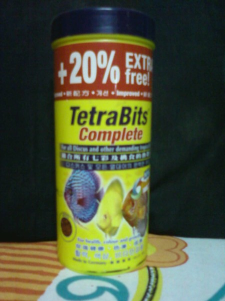 Tetra bits for my oscars is it good proper for Oscar fish food
