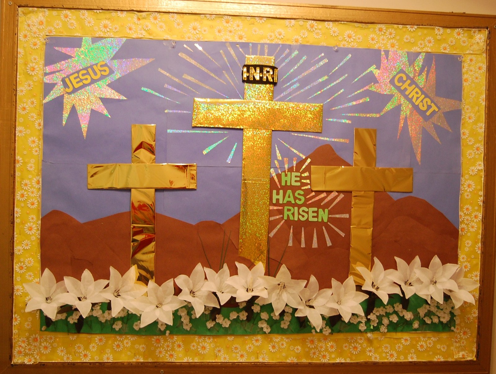 Easter Bulletin Board  Patty and I did this for our Church. | by Roger Hopper