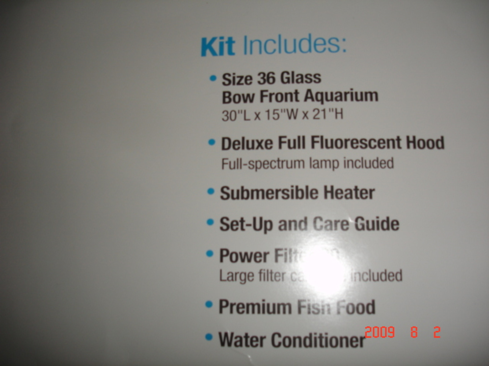 Specs on my new 36G Bowed Aquarium!! | by Vu Q