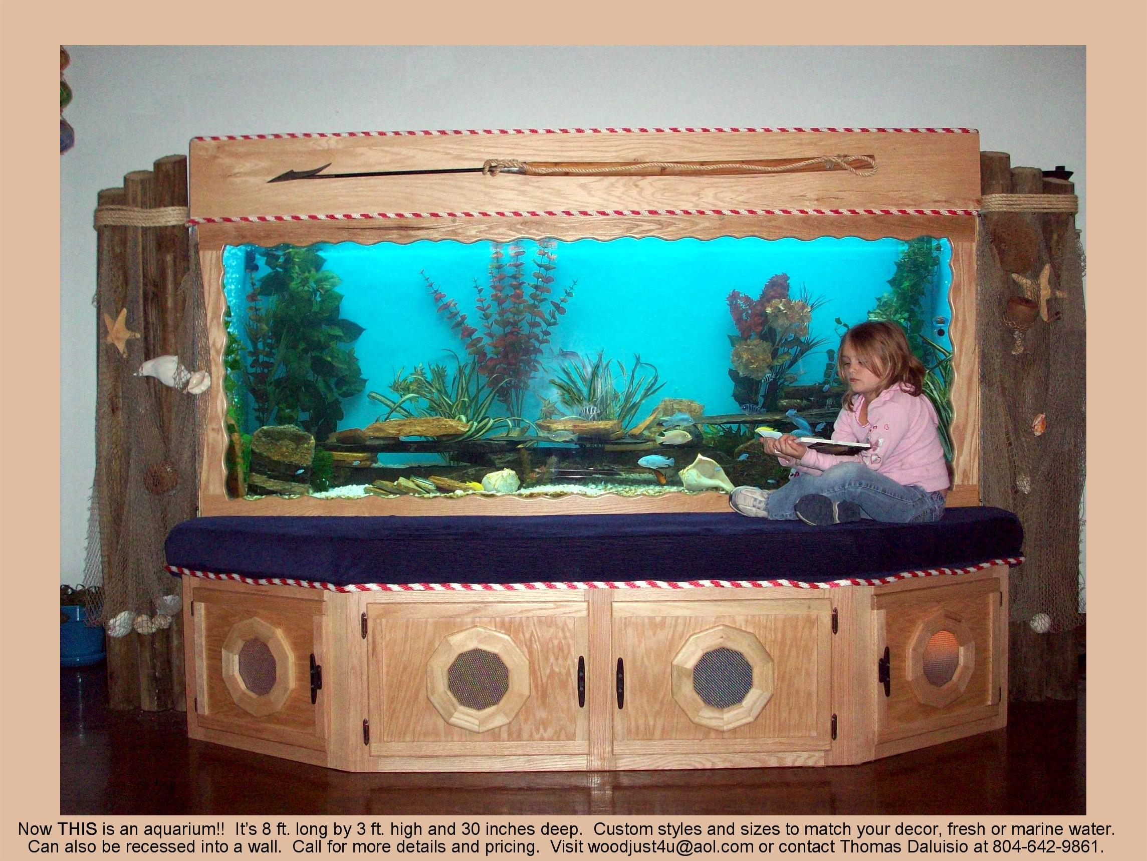 Build a Plywood Fish Tank