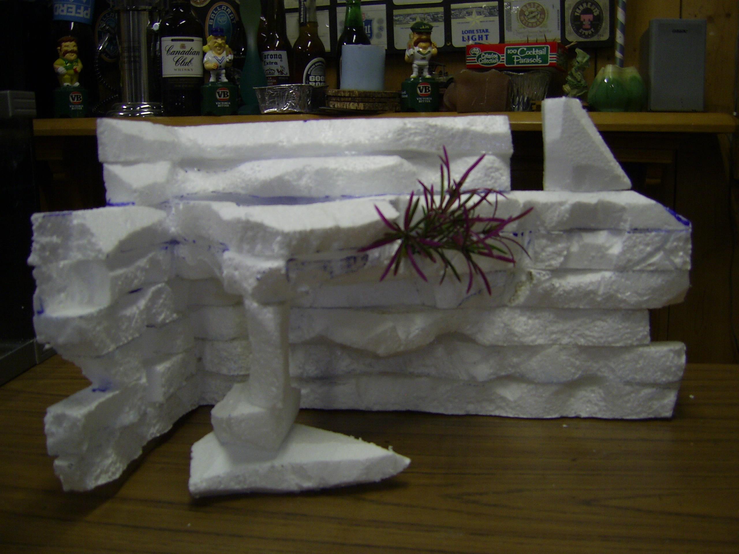 Cichlids Com Diy Tank Background