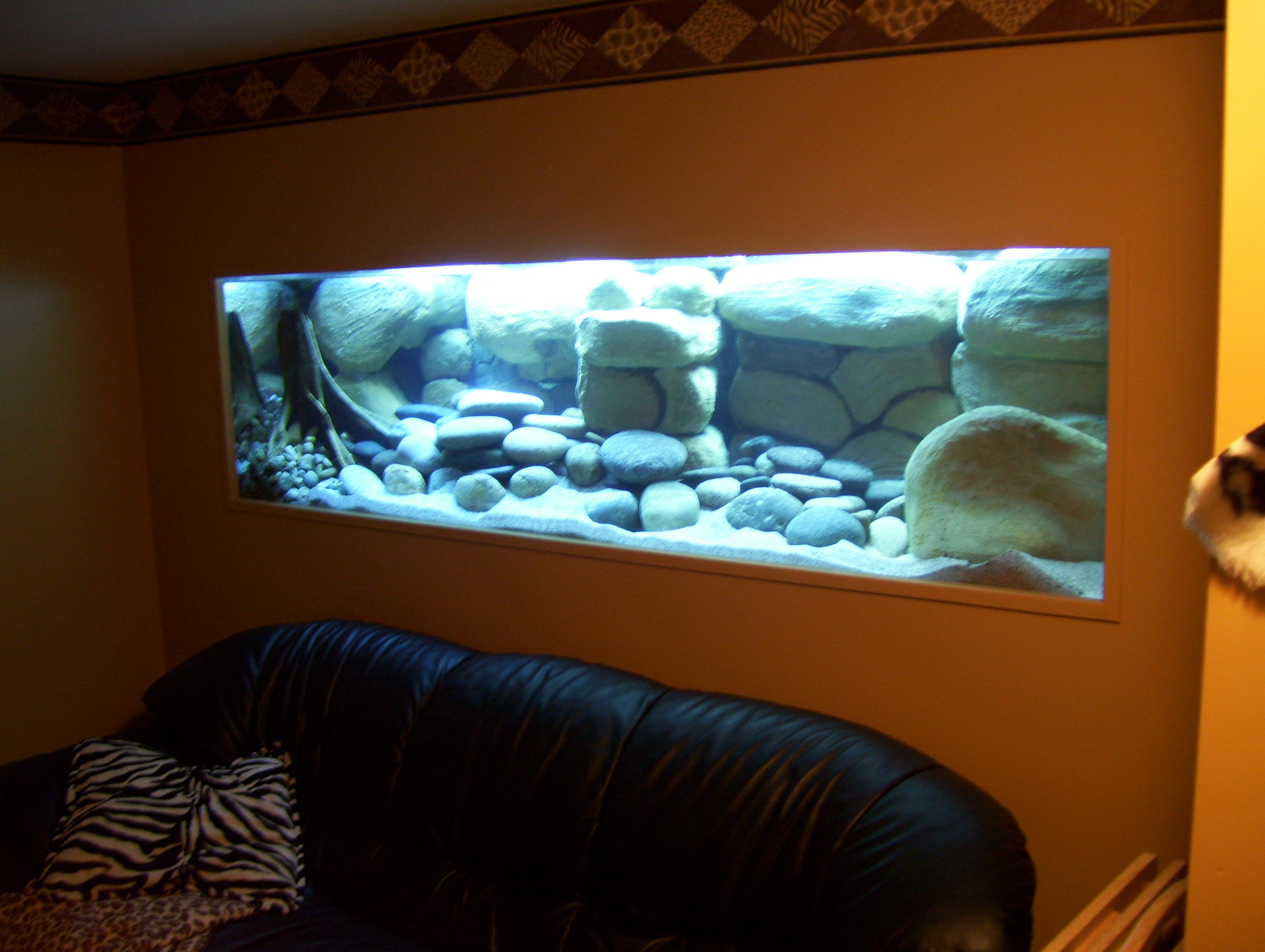 100 Gallon Fish Tank Backgrounds My Diy